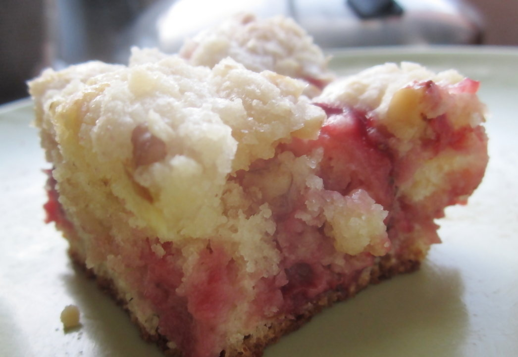 Strawberry Coffee Cake | Wallflour Girl