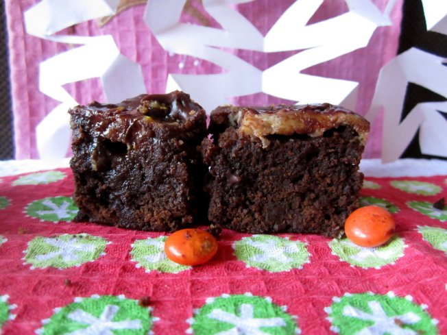 Extra Fudgy Chunky Cheesecake-Topped Brownies 3 (12.8.12)