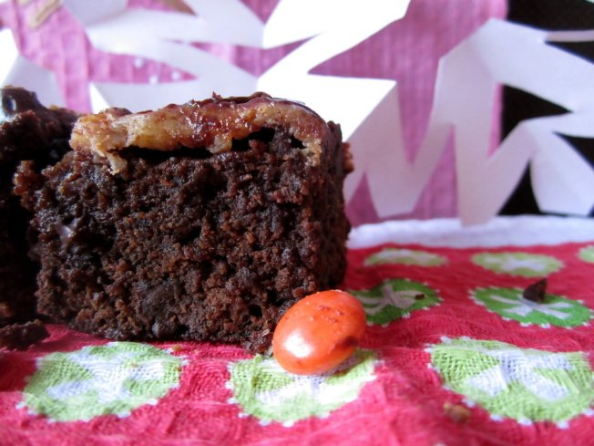 Extra Fudgy Chunky Cheesecake-Topped Brownies 5 (12.8.12)