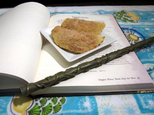 Pumpkin Pasties (a la Harry Potter) 10 (12.1.12)