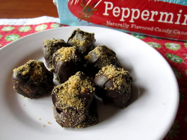 Pumpkin Pound Cake Truffles with Gingerbread Cookie Crumbs 5 (12.14.12)