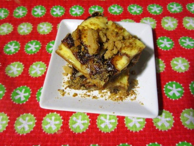 Zesty Orange Cheesecake Gingerbread Blondies 1 (12.17.12)