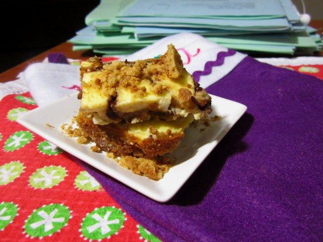 Zesty Orange Cheesecake Gingerbread Blondies 2 (12.17.12)