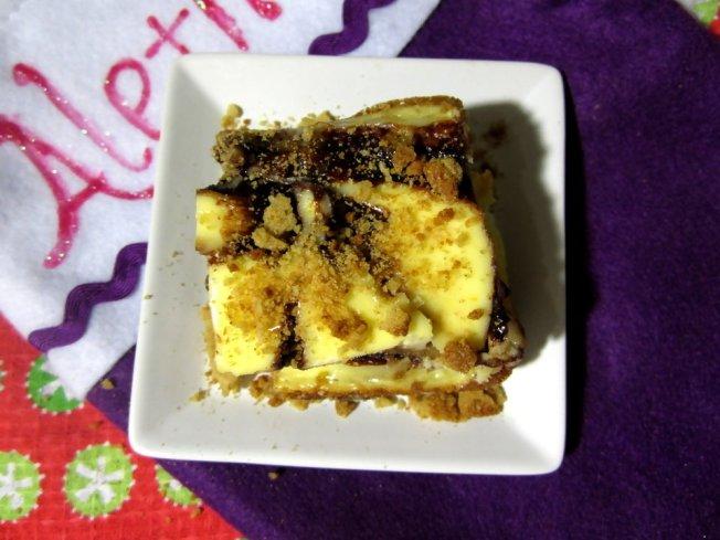 Zesty Orange Cheesecake Gingerbread Blondies 3 (12.17.12)