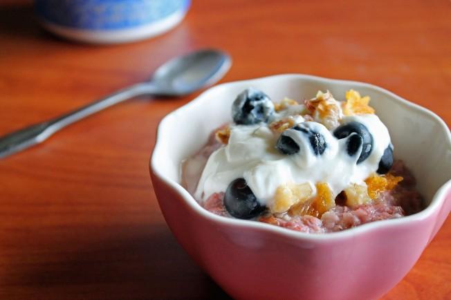 Berry Oat-fait in a Bowl 4 (1.5