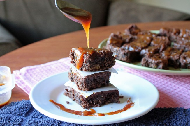Insanely Fudgy Deconstructed Twix Brownies 1--11013