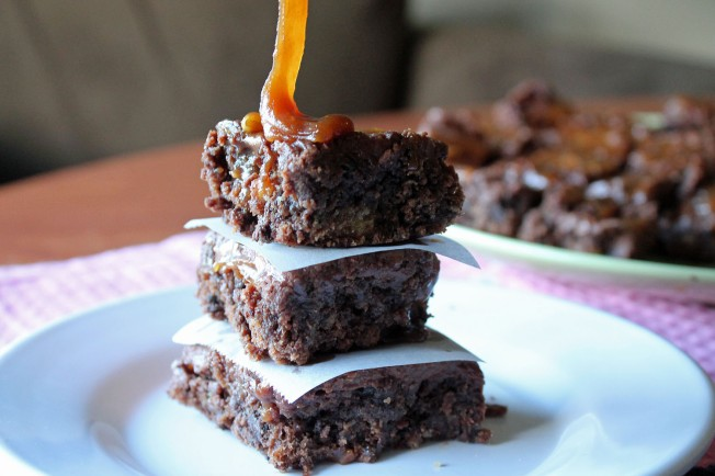 Insanely Fudgy Deconstructed Twix Brownies 12--11013