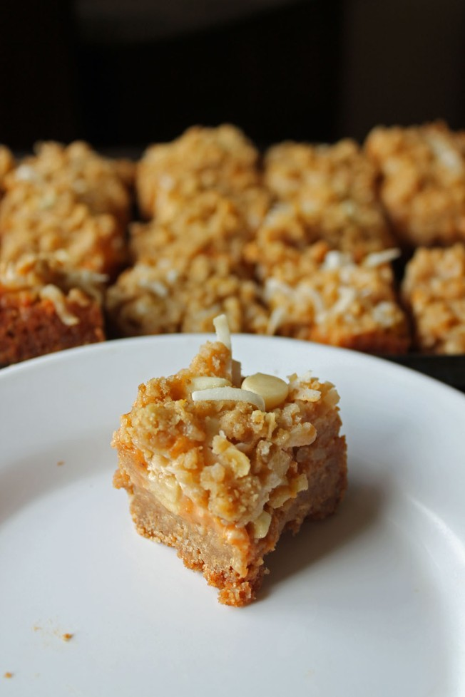 Frosty Pumpkin Streusel Magic Bars 6--031313