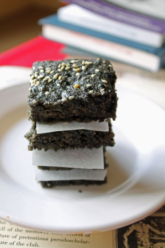 Black Sesame Sunshine Brownies 1--033113