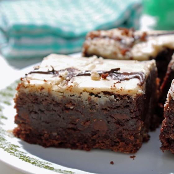 Extra Fudgy Kahlua Brownies 6--071813