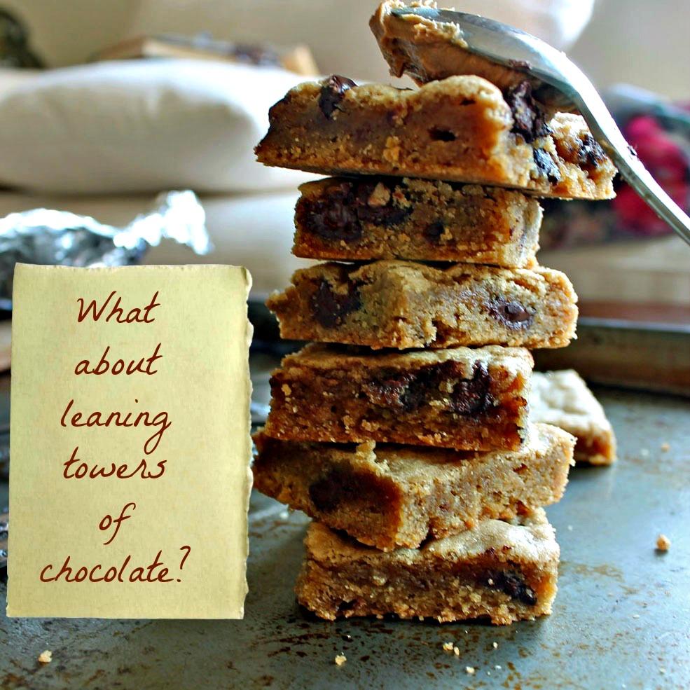 Best Chewy Biscoff (Cookie Butter) Chocolate Chip Blondies | Wallflour ...