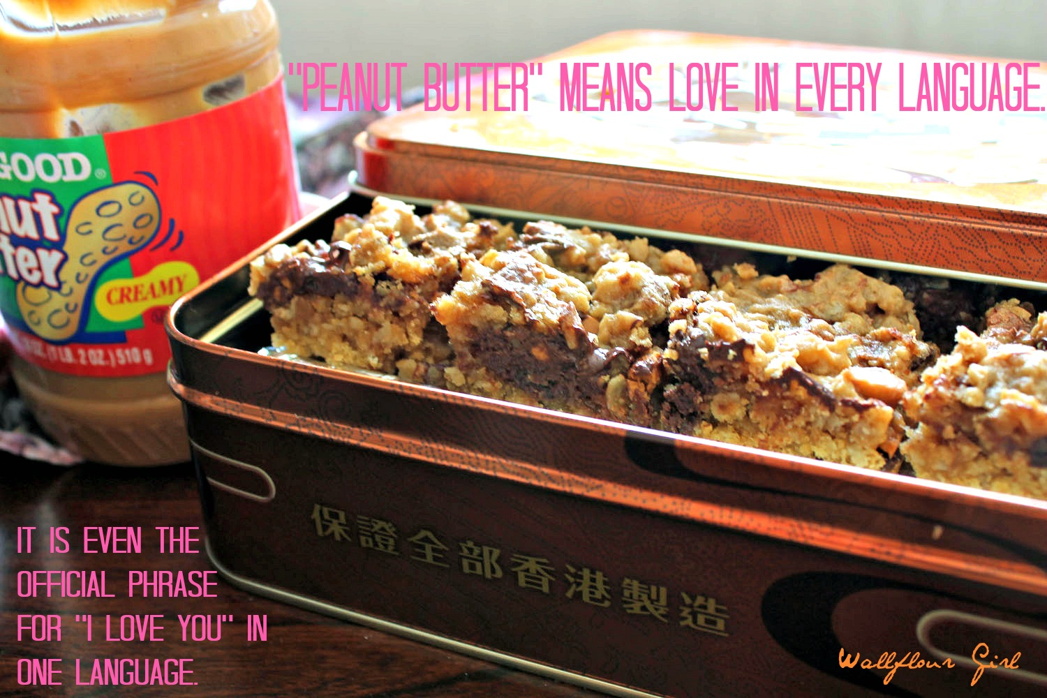 Peanut Butter Lovers' Chocolate Oat Squares 18--101313