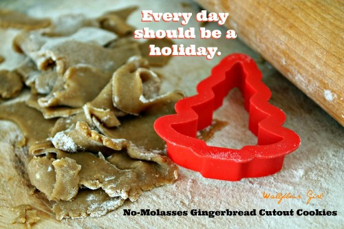No-Molasses Gingerbread Cutout Cookies 5--122413