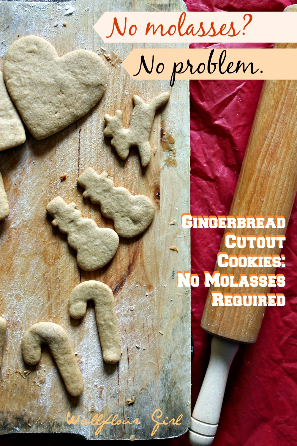No-Molasses Gingerbread Cutout Cookies 8--122413
