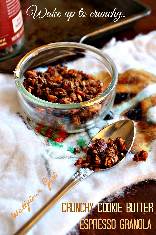 Crunchy Cookie Butter Espresso Granola 15--010614