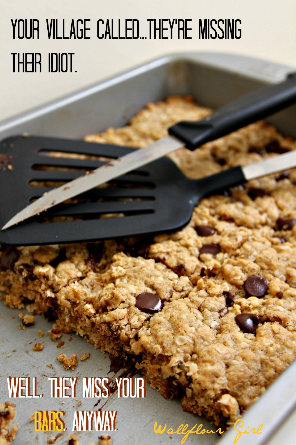 Idiot-Proof Healthy Chocolate Chip Oat Bars 14--012214